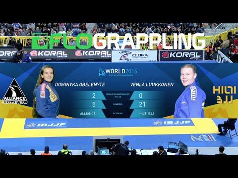 Dominyka Obelenyte Vs Venla Lukkonen / World Championship 2016