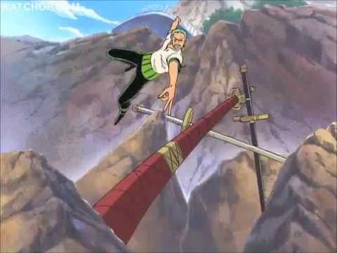 One Piece Funny Moment Zoro Chase For His Swords