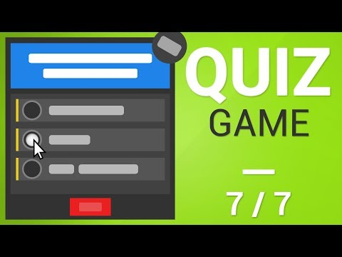 Unity Tutorial - How to create a Quiz Game [Part 7/7] - XML DATA, EDITOR SCRIPTING AND ROUNDS thumbnail