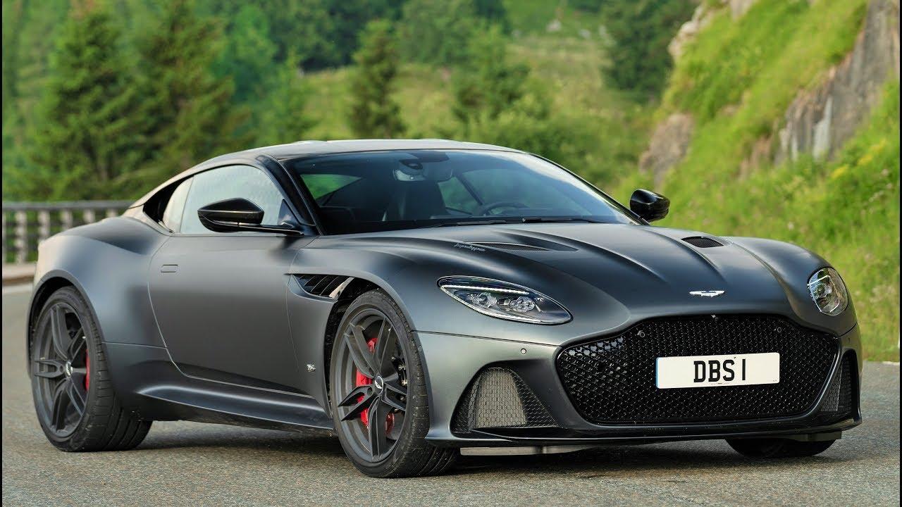 2019 Grey Aston Martin Dbs Superleggera Awesome Super Gt