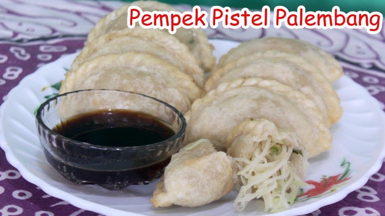 Cara Membuat Pempek Pistel Palembang