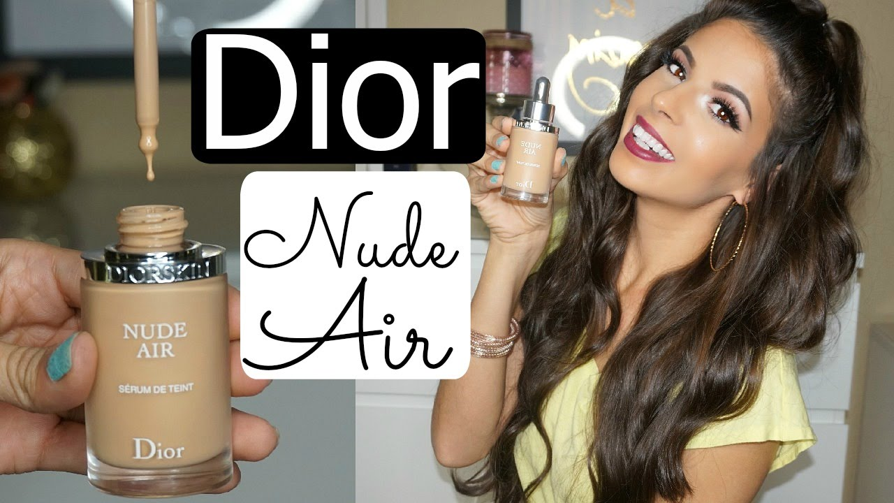 Dior Nude Air Serum Foundation Review & Demo - YouTube