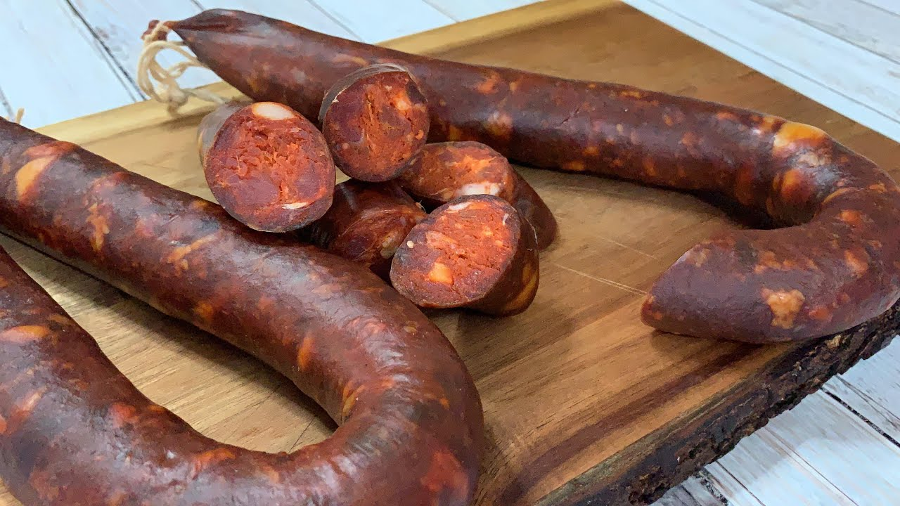 Chorizo Artesanal De Cerdo Y Jabalí Artesan Chorizo Sausage Made Of Pork And Wild Bore Subs Ing Youtube