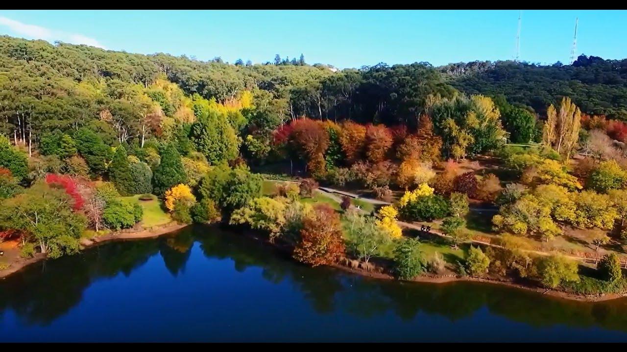 autumn colours mount lofty botanic