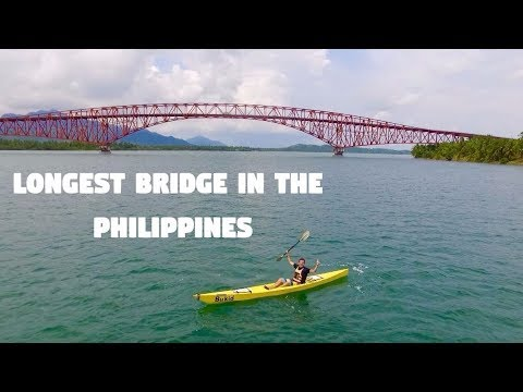 KAYAKING THE LONGEST BRIDGE IN THE PHILIPPINES (Tacloban City, San Juanico Bridge)