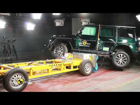 2019 NEW Mercedes-Benz G-Class - Euro NCAP Crash Test