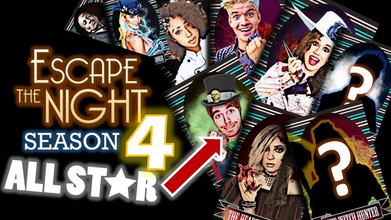 My Season 4 ALL-STAR Cast | Escape The Night