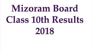 MBSE HSLC Result 2018 | Mizoram Class 10 Result 2018