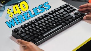 Velocifire TKL02WS Wireless Mechanical Keyboard - Unboxing & Review