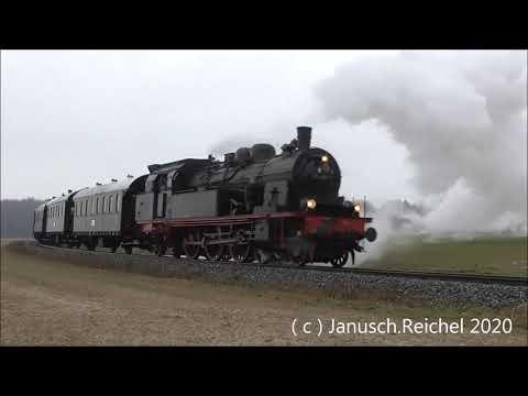 Dreikönigsdampf Nach Warstein Mit 78-468 /  04.01.2020 ( HD )