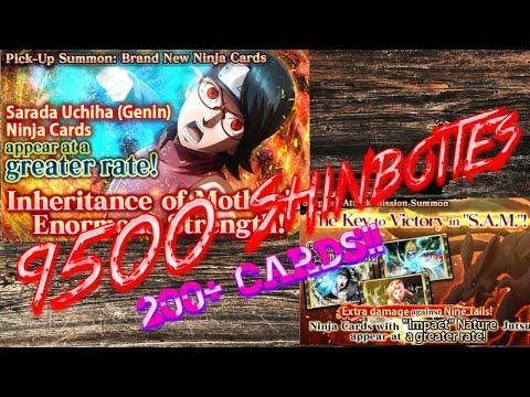 [NxB] 9500 Shinobites on Sarada's Banner and 3rd SAM!!! - Naruto x Boruto Ninja Voltage
