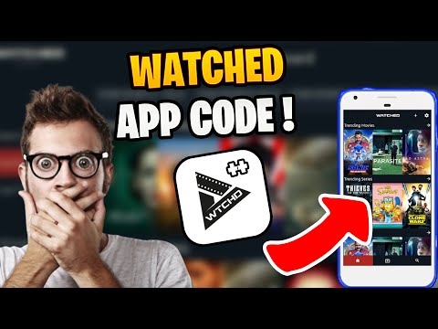 Get Watched App Code 2021- Watched Multimedia Browser URL Codes/Bundle URL - Watched App Code iPhone