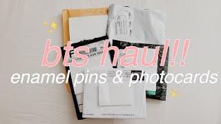 ✨bts haul!!✨ (mainly enamel pins!)
