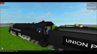 "Roblox- How To Drive A Steam Train Like A ""PRO"""