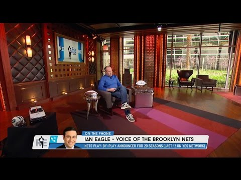 Sports Announcer Ian Eagle Talks NBA Playoffs on The RE Show