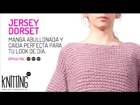 Conoce el Jersey de punto Dorset, de Knitting Point - YouTube