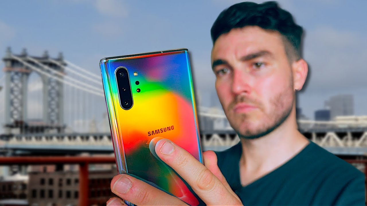 3 Days In New York With The Samsung Galaxy Note 10 Plus!