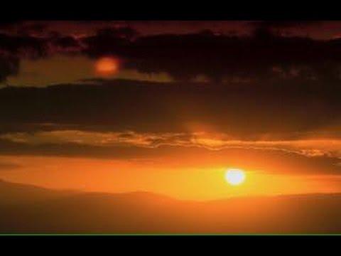 September 16 2016 Holland great footage of NIBIRU around SUN in sunset