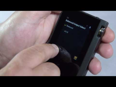 Using the DP-S1 Hi-Res Music Player