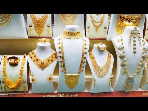 #GoldSouqQatar| Trying Traditional Arabic Jewellery@Qatar
