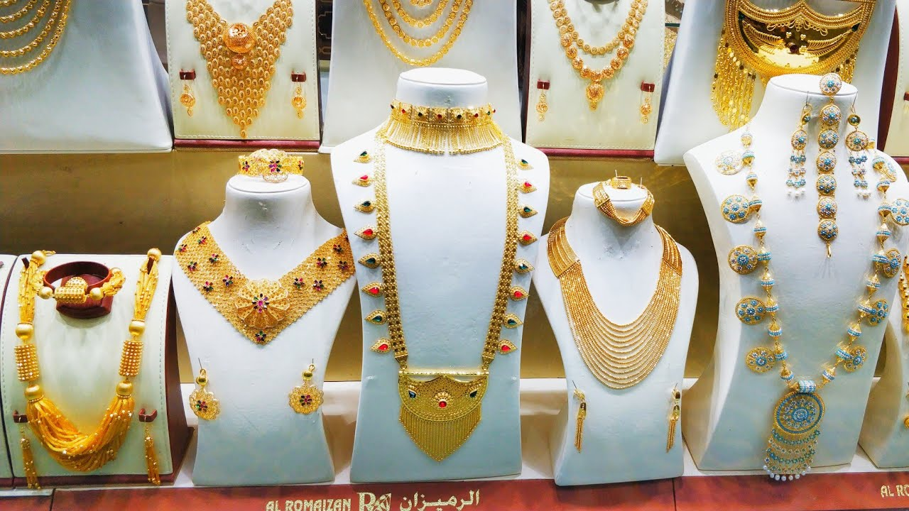 Goldsouqqatar Trying Traditional Arabic Jewellery Qatar Youtube