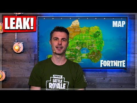 Endlich! Neue Season5 MAP -Gameplay - (Concept) Leak|| Fortnite Battle Royale deutsch