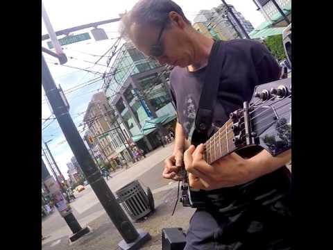 The Six Million Dollar Guitar - Vancouver busking show - June 5/2016