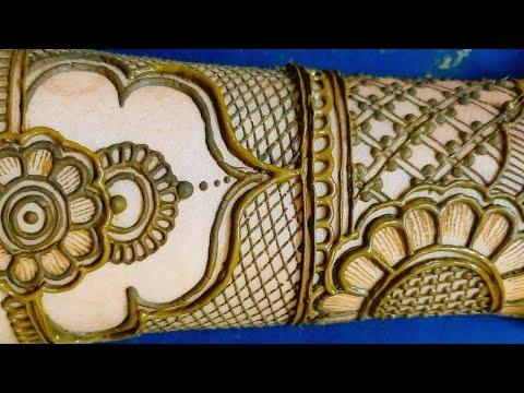 Full Hand Indian Wedding Bridal Mehndi Design || Dulhan Mehndi Design