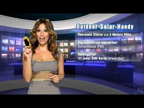 Pearl TV-Spot mit Gülcan (Outdoor-Solar-Handy) - Motiv 2