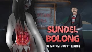 Sundel Bolong Di Lapangan Angker | Kartun Hantu & Animasi Horor #HORORMISTERI