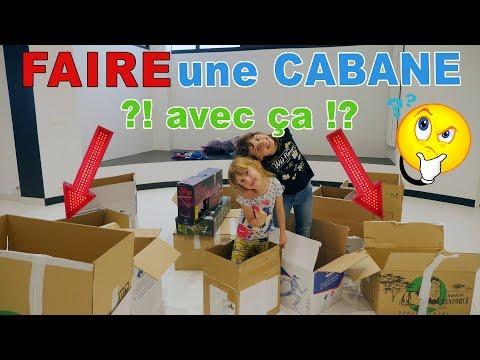 ON RELÈVE VOTRE DÉFI DE LA CABANE AVEC DES CARTONS !! :) • Studio Bubble Tea