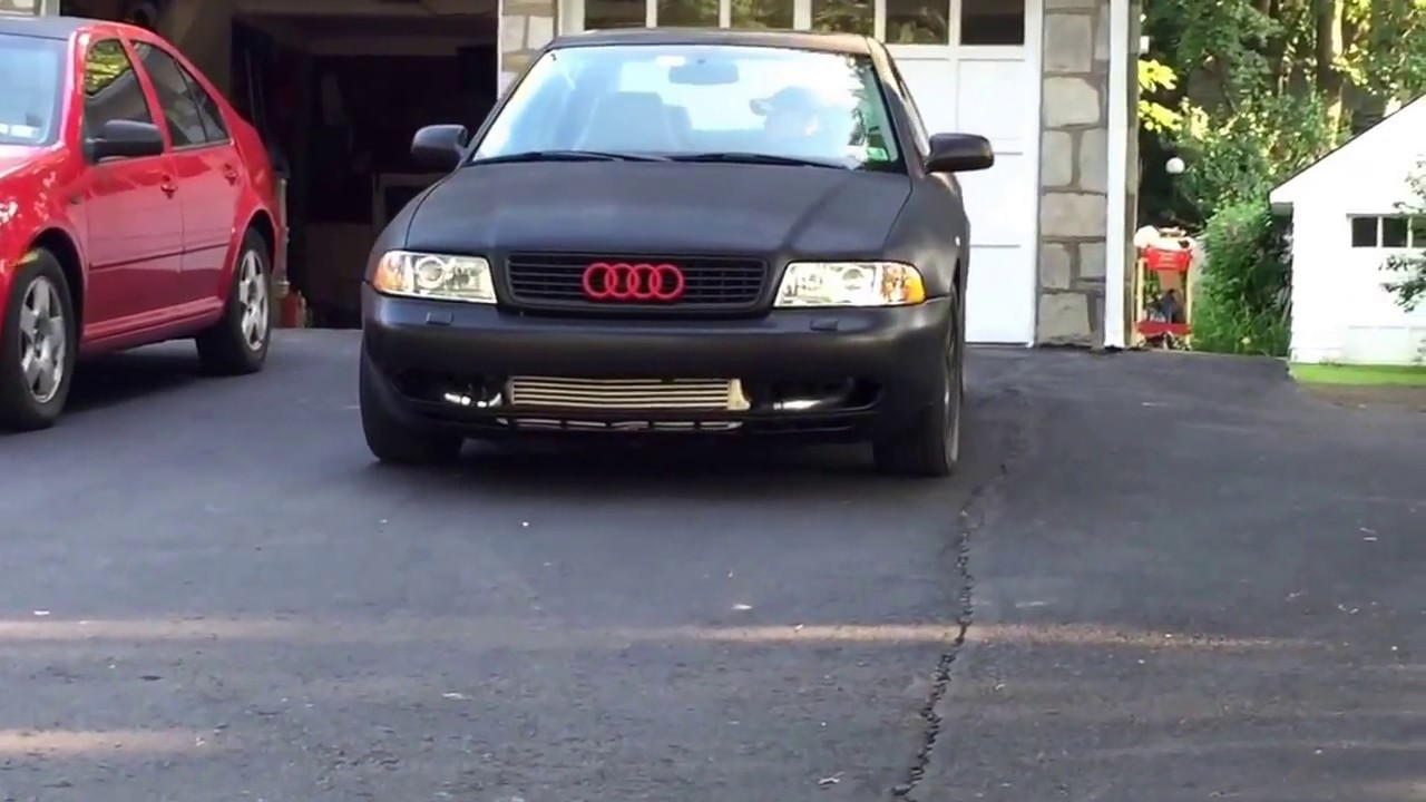 Audi A4 B5 Turbo Plastidip by rattle can