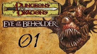Let's Play Eye Of The Beholder (GBA)  01  Poor Life Decisions: The Game!