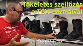 A TCX legjobban szellőző csizmái - Onroad.hu