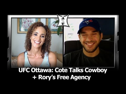 UFC Ottawa: Patrick Cote Talks Strategy Against Cerrone, Rory's Free Agency After Wonderboy Fight