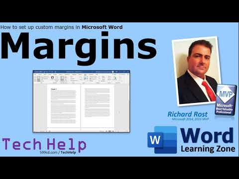 How To Set Mirror Margins In Your Microsoft Word Documents (change, Adjust, View, Page Setup)