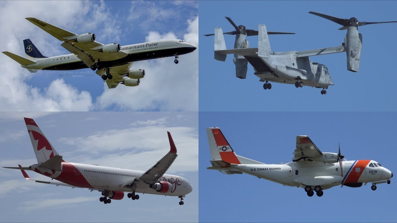 Bahamas | Sept 4/2019 Planespotting | Relief Flights Picking Up | Samaritan's Purse and Ospreys