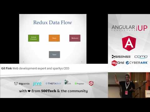 Gil Fink - Redux Data Flow with Angular 2   AngularUP 2016