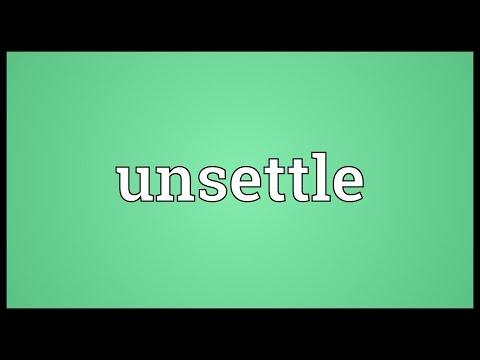 Header of unsettle