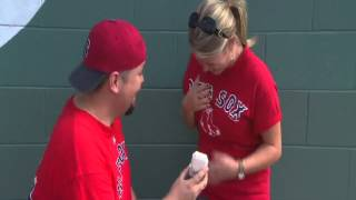 Fenway Park Wedding Proposal