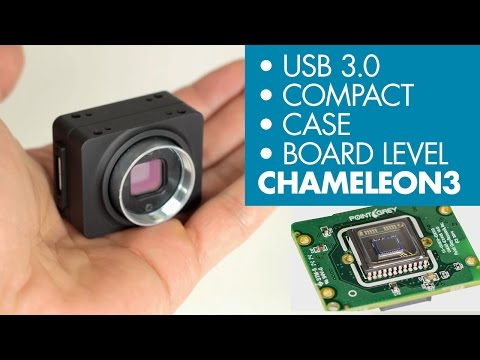 Point Grey's Chameleon3 USB 3.0 Camera - 6 Major Features