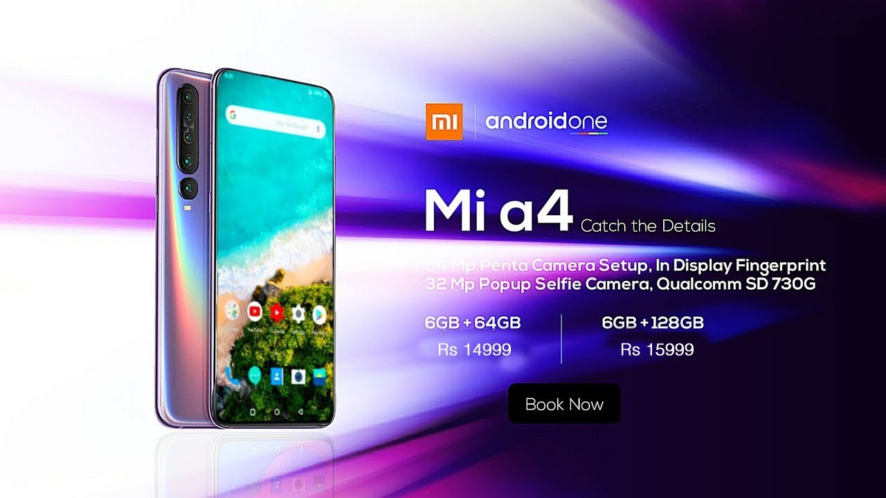 Download Xiaomi Mi A4 : Everything You Need To Know | Price and launch date in india, Snapdragon 720G, Specs