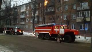 Жесть! Пожар в Туле с погибшими 27.01.17