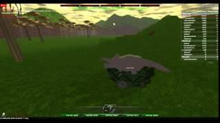Let's Play - Roblox - Dinosaur Survival - Herbivore -Triceratops - Part 1