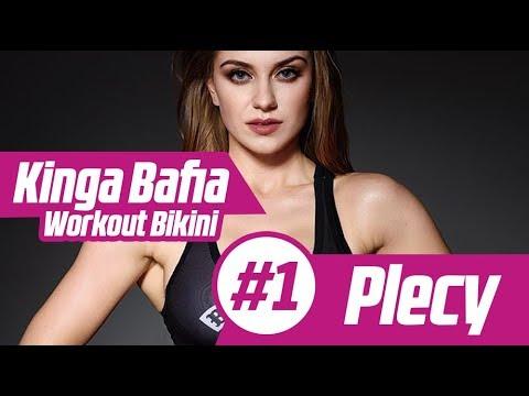 Kinga Bafia Workout Bikini #1 Plecy