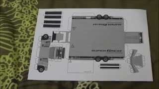 Papercraft Mitsubishi Fuso Super Great Truck