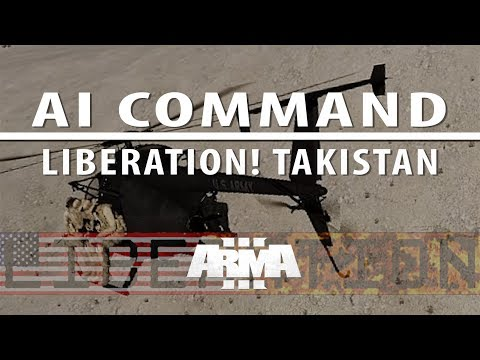 Liberation campaign ep 1 [Singleplayer, AI command with voice]