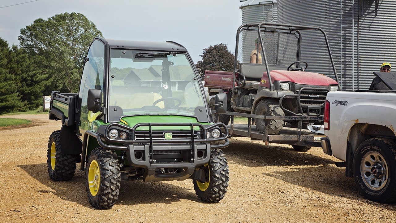 goodbye mule! - new john deere gator 825i - youtube