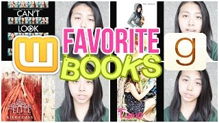 ♡ Top 10 Favorite Stories (Wattpad + Published Books)| AlohaKatieX ♡