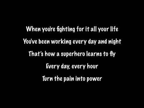 The Script - Superheroes (Lyrics+Official Audio)